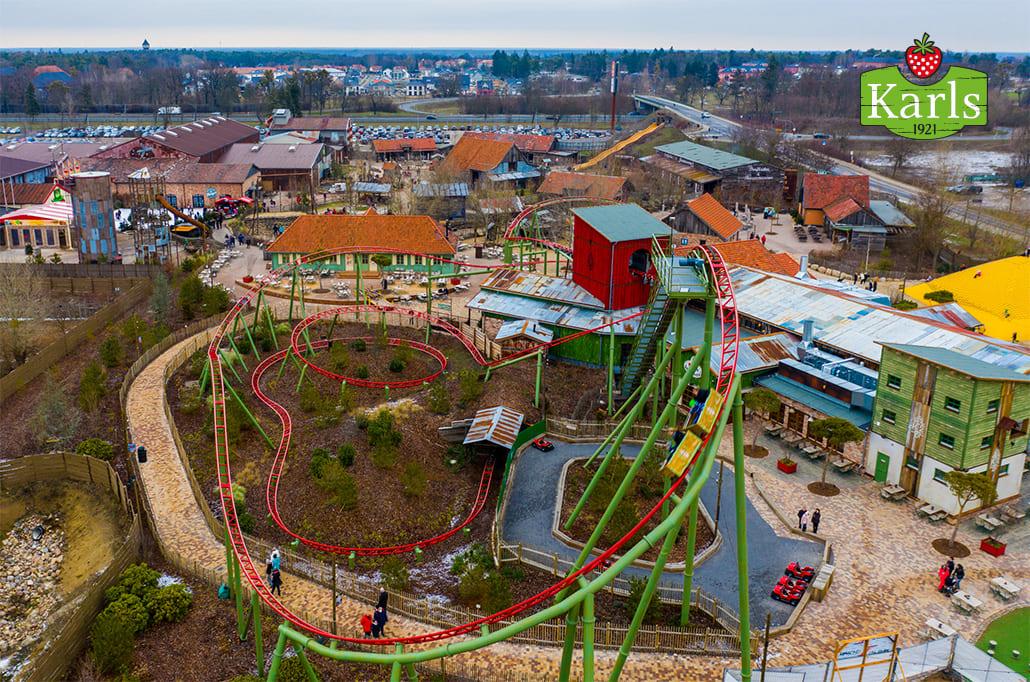 Im Karls Erlebnis-Dorf und Freizeitpark gibts es für Groß und Klein viel zu erleben